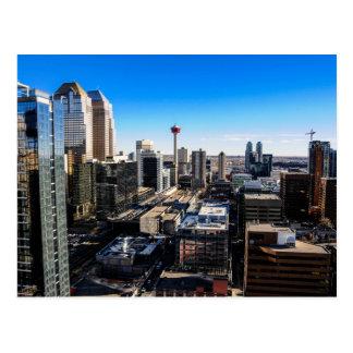 Carte Postale Calgary, Alberta, Canada