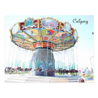 Carte Postale Calgary, Canada
