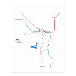 Carte Postale Calgary métro