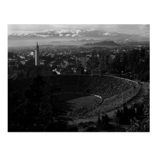 Carte Postale California Memorial Stadium, Uc Berkeley, 1966