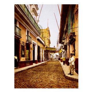 Carte Postale Calle de Habana La Havane Cuba