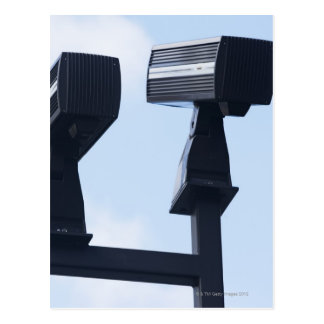 Carte Postale Caméras de sécurité
