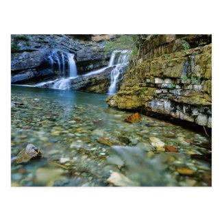 Carte Postale Cameron tombe en parc national de lacs Waterton