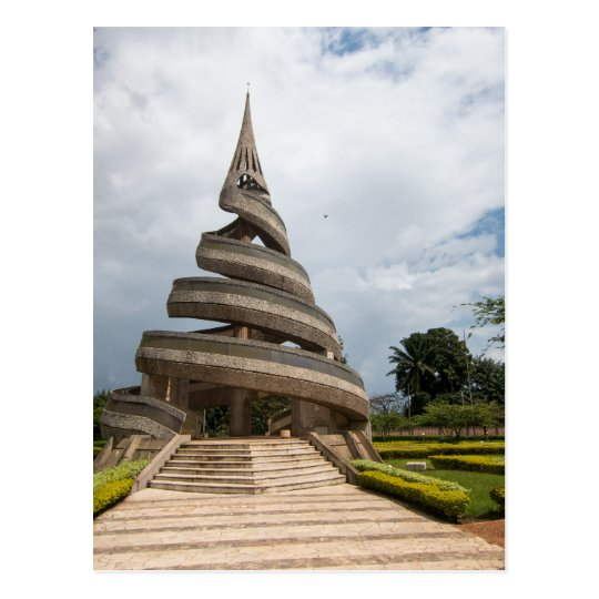 Carte Postale Cameroon - Yaounde - The Reunification Monument