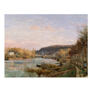 Carte Postale Camille Pissarro - la Seine chez Bougival