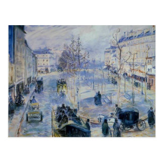 Carte Postale Camille Pissarro- Le Boulevard De Clichy