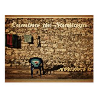 carte postale Camino De Santiago