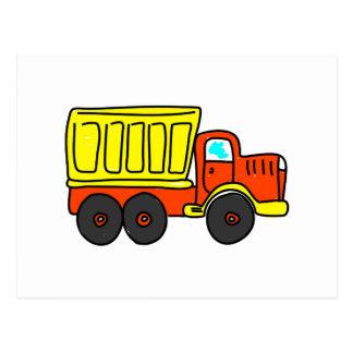 Carte Postale Camion à benne basculante
