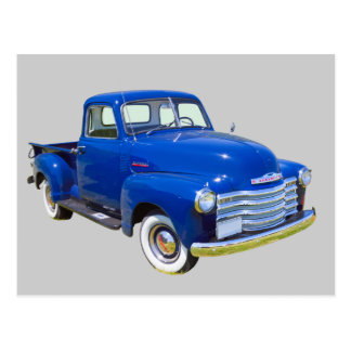 Carte Postale Camion pick-up 1947 antique de Chevrolet