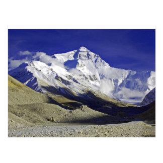 Carte Postale Camp de base Thibet d'Everest
