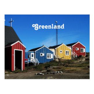 Carte Postale Campagne du Groenland