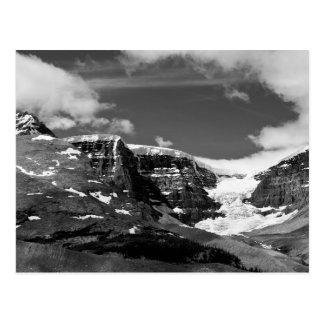 Carte postale canadienne de montagne de glace