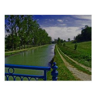 Carte Postale Canal de Bourgogne