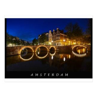 Carte Postale Canal d'empereur d'Amsterdam, Postcard