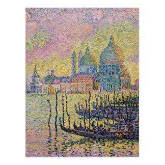 Carte Postale Canal grand, Venise par Paul Signac