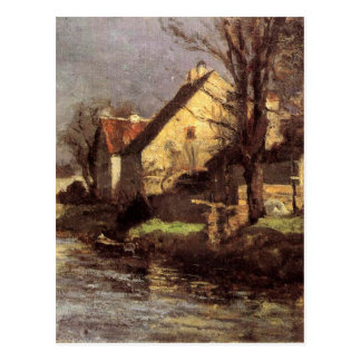 Carte Postale Canal, Schlessheim par T.C. Steele