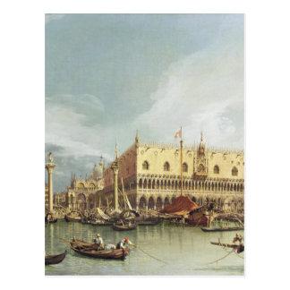 Carte Postale Canaletto - le Molo, Venise