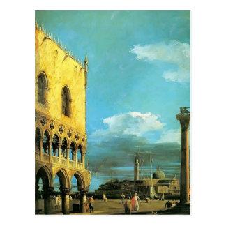 Carte Postale Canaletto- le Piazzet semblant du sud