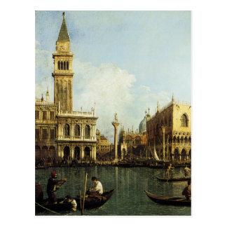 Carte Postale Canaletto le pilier