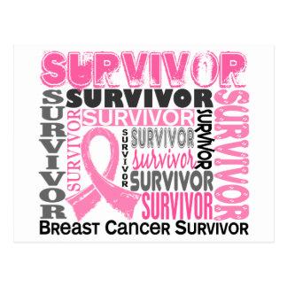Carte Postale Cancer du sein du survivant 10