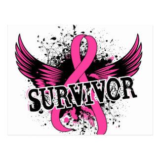 Carte Postale Cancer du sein du survivant 16