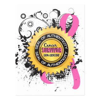 Carte Postale Cancer du sein du survivant 23 de Cancer