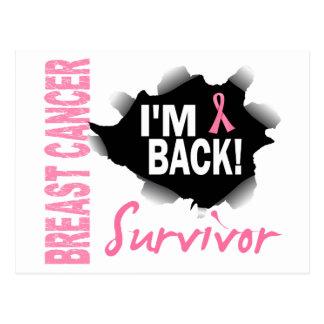 Carte Postale Cancer du sein du survivant 7