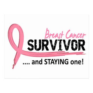 Carte Postale Cancer du sein du survivant 8