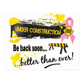 Carte Postale Cancer du sein en construction