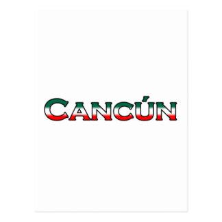 Carte Postale Cancun (logo des textes)
