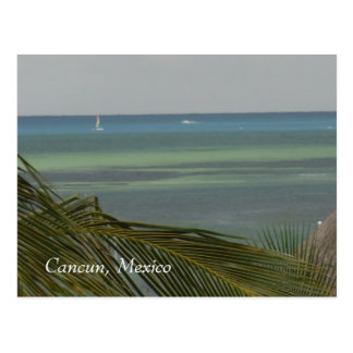 Carte Postale Cancun, Mexcio