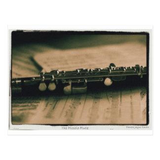 Carte Postale cannelure de petite flûte 1839