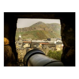 Carte Postale Canon de château d'Edimbourg