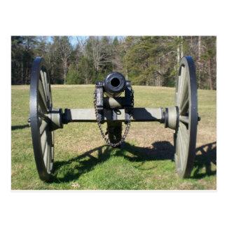 Carte Postale Canon de guerre civile