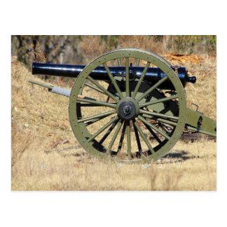 Carte Postale Canon simple de guerre civile