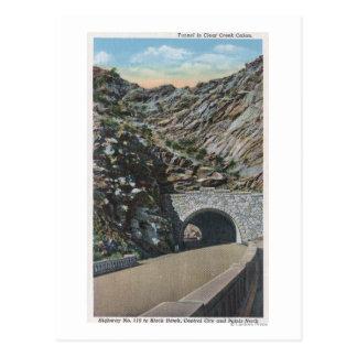 Carte Postale Canyon clair de l'eau, le Colorado