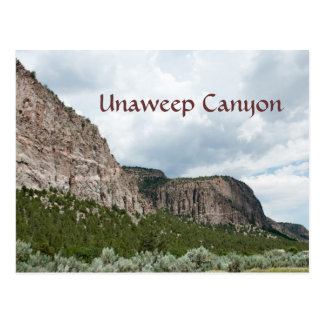 Carte Postale Canyon d'Unaweep