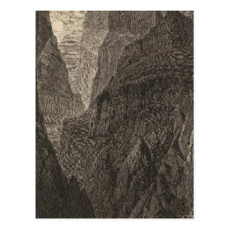 Carte Postale Canyon grand