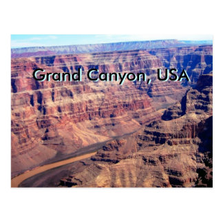 Carte Postale Canyon grand, Etats-Unis