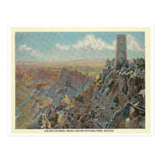 Carte Postale Canyon grand vintage