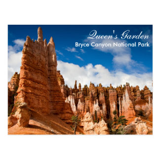 Carte Postale Canyon NP - jardin de Bryce de la Reine postcar