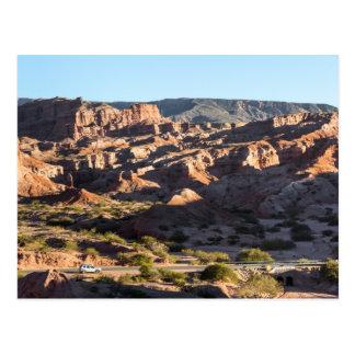 Carte Postale Canyons de province de Salta
