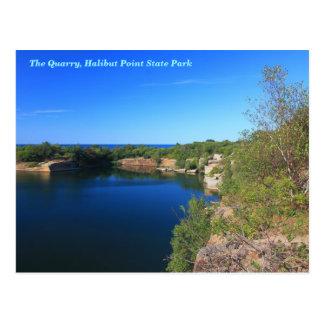Carte Postale Cap Ann de Rockport de carrière de parc d'état de