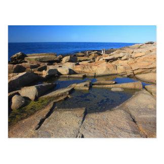 Carte Postale Cap Ann de Rockport de piscine de marée de point