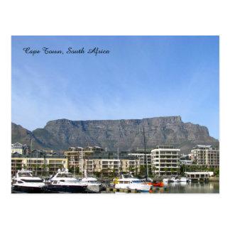 Carte Postale Cape Town, Afrique du Sud (montagne de Tableau)