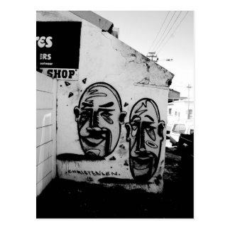 Carte Postale Cape Town : Deux beaucoup de visages