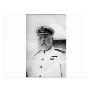 Carte Postale Capitaine EJ Smith de Titanic