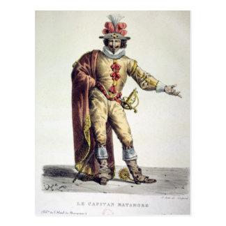 Carte Postale Capitaine Matamore