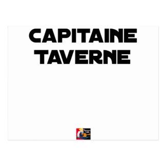 Carte Postale CAPITAINE TAVERNE - Jeux de mots - Francois Ville
