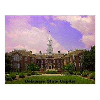 Carte Postale Capitale de l'État du Delaware